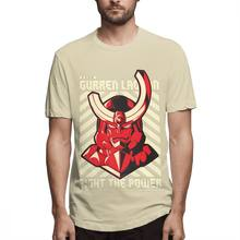 Летняя мужская качественная футболка с принтом Tengen Toppa Gurren Lagann, Новое поступление 2020, футболка японского аниме, XS-3XL размера плюс(Китай)