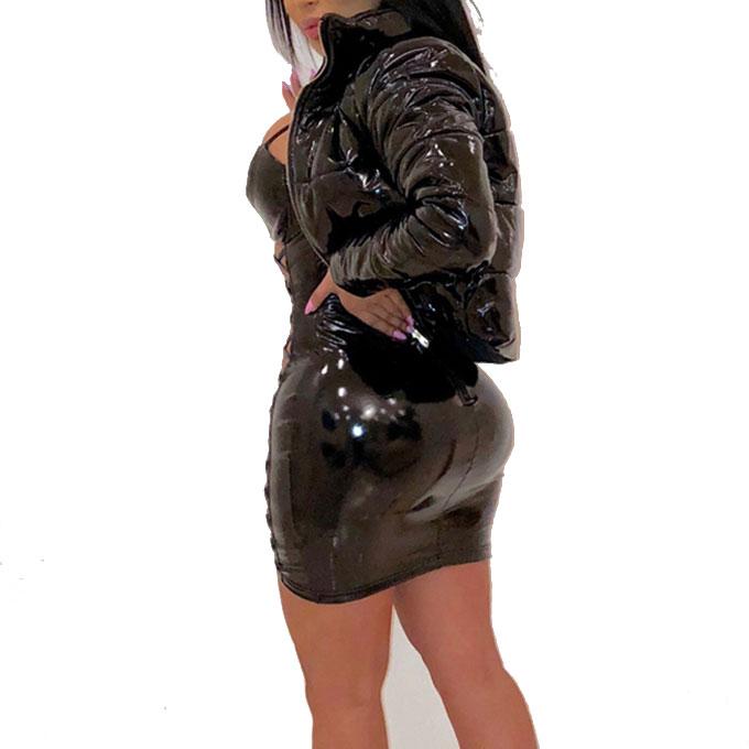 2020 Women Winter Coats Winter And Fall 2020 Women Reflective Clothing Women Puffed Bubble Coats