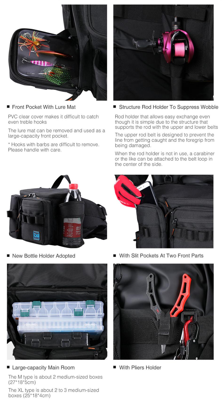 Tsurinoya Multifunction Fishing Lure Bag Rx1911 Outdoor Large Capacity Hip Bag Shoulder Bags Fishing Tackle Pack View Fishing Tackle Bag Tsurinoya Product Details From Weihai Diaozhiwu Fishing Tackle Co Ltd On Alibaba Com