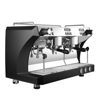 Commercial espresso double group coffee machine Cappuccino Coffee maker with imported water pump