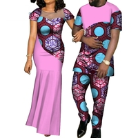 WYQ126 Wholesale Party Wedding Dresses Pursure Cotton African Style Traditional Party Dress Clothing for Women and Men