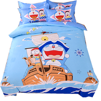 Cartoon children character duvet cover boys and girls twin size,100% polyester 3d printed single bedding sheet sets for kids