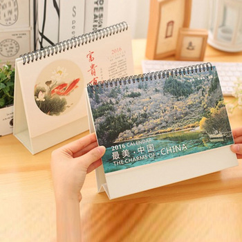 Guangzhou customized desk calendar printing services