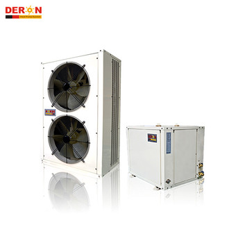 Deron R407C EVI air to water heat pump/low temp. operating system/vapor enhanced with high COP DE-27W/CW DE-46W/CW DE-92W/DW