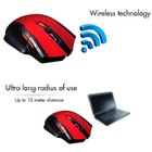 1600dpi Rechargeable Wireless USB Computer Mouse , Computer Accessories Wireless Gaming Mouse
