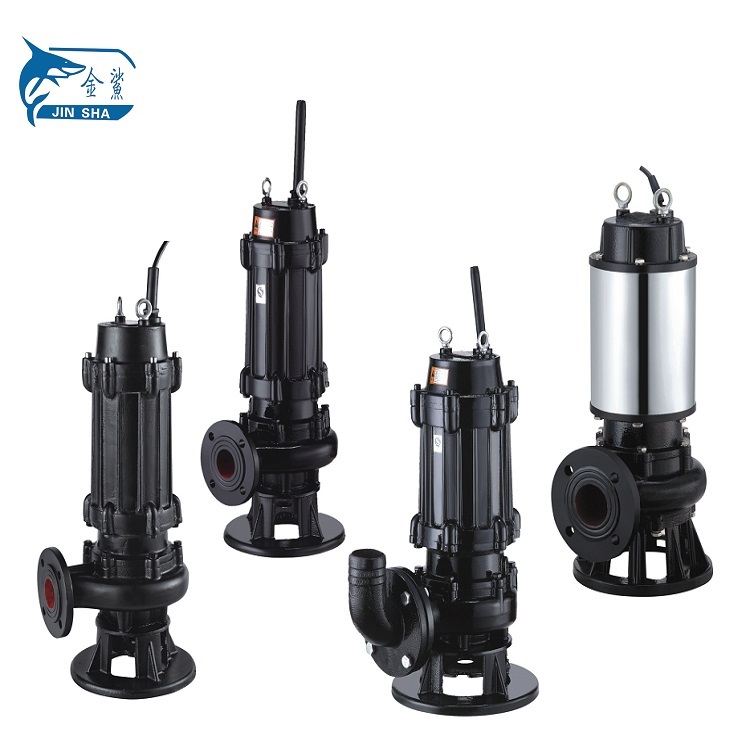 WQ Type High Flow Rate Waste Water Pump Submersible Slurry Pumps