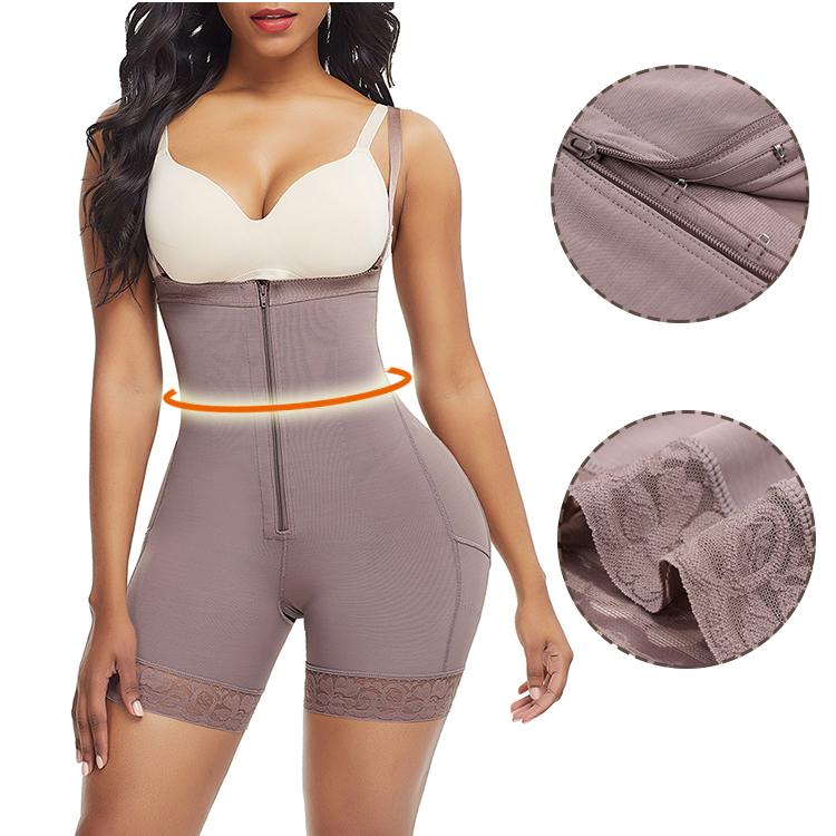 Plus Size  Rubber Bone Shapewear For Women'S Body Shaper Pants Butt Lifter Underwear Booty Lift Pulling Shapers Tummy Shaper