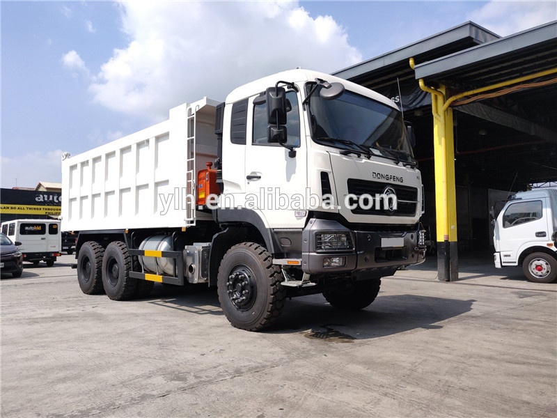 Sand tipper Dongfeng 10 tires 30ton 20ton dump truck for sale