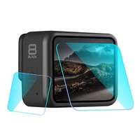 Tempered Glass LCD screen Protector & Lens Protector for GoPro Hero 8 Accessories