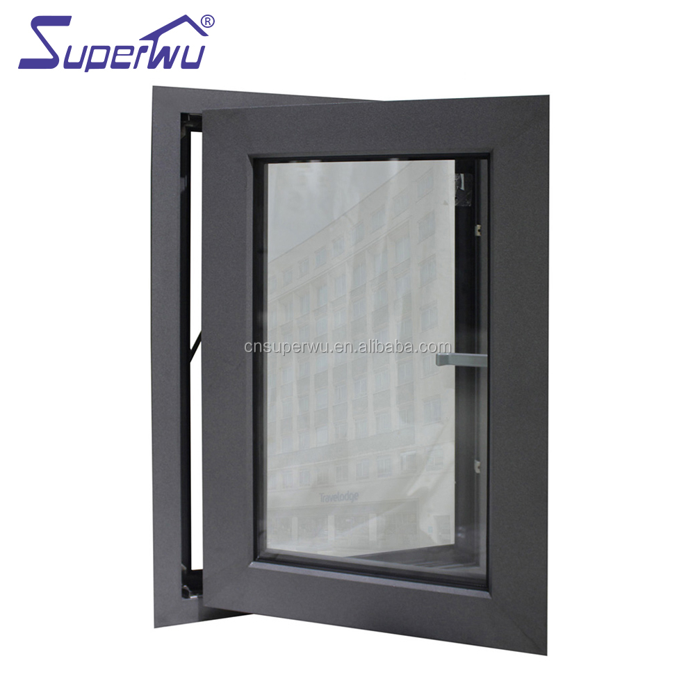 Aluminium windows laminated glass awning window acoustic windows
