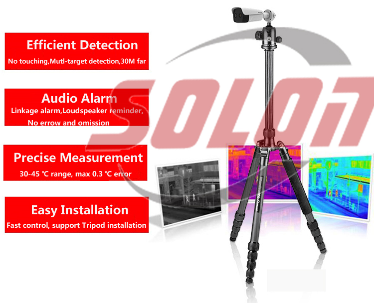 Intelligent IR thermal imager for public place