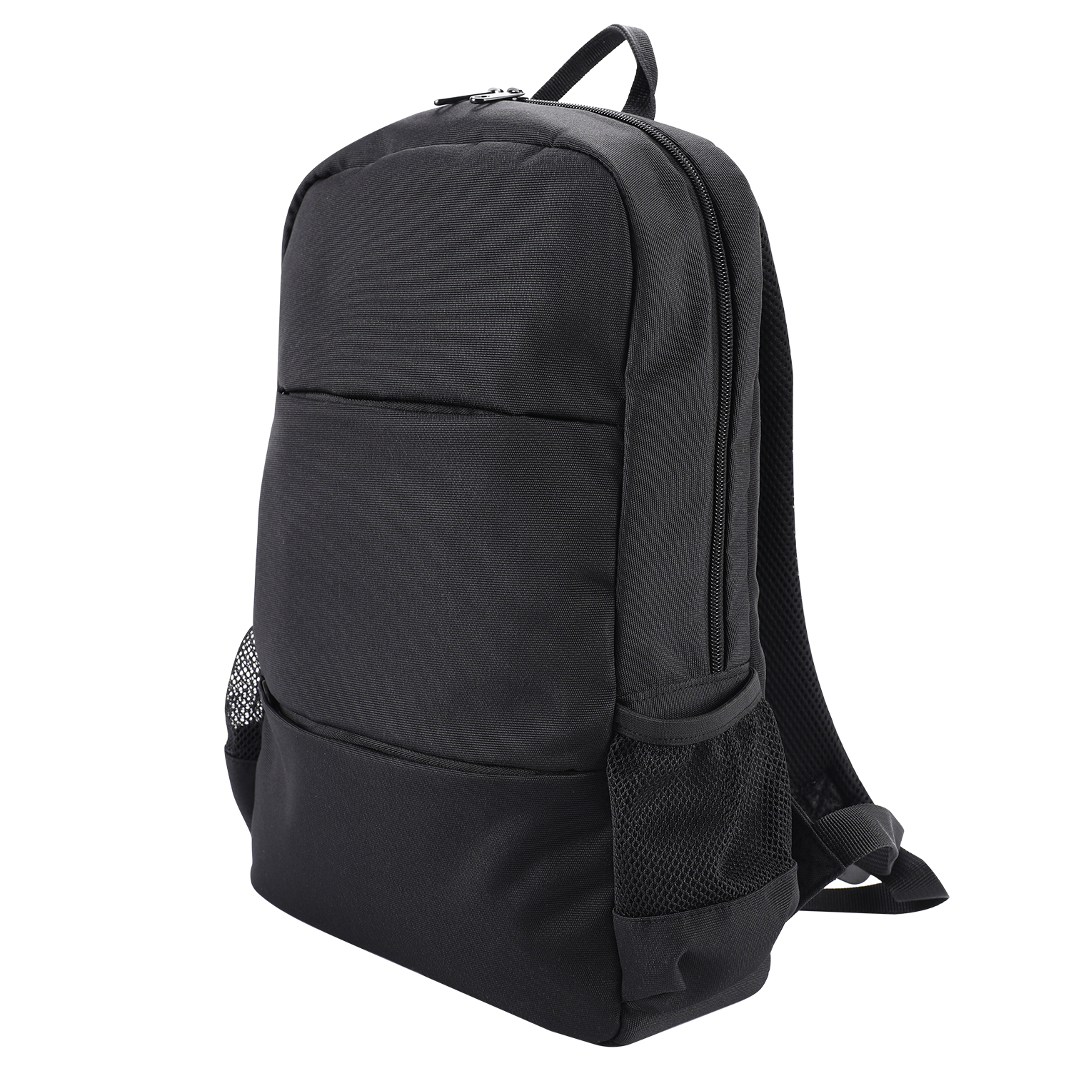 Wholesale amazon hot model unisex black custom logo laptop computer bag Multi-pocket men nylon business travel backpack bag