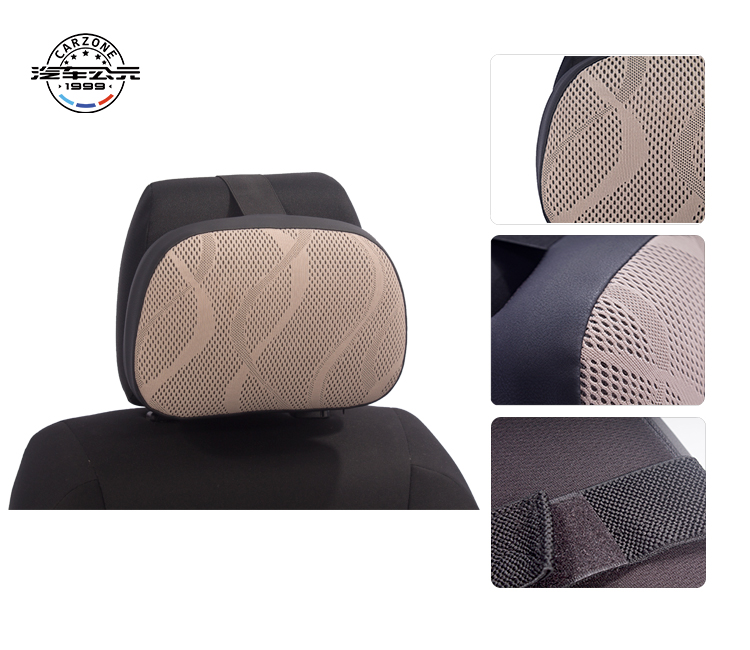 SJ-NP20 Beautiful Car Seat neck Adjustable Memory Foam Pillow head rest  Neck Pillow headrest