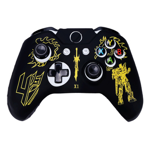 Laser customized controller silicone case for Xbox one joystick rubber skin