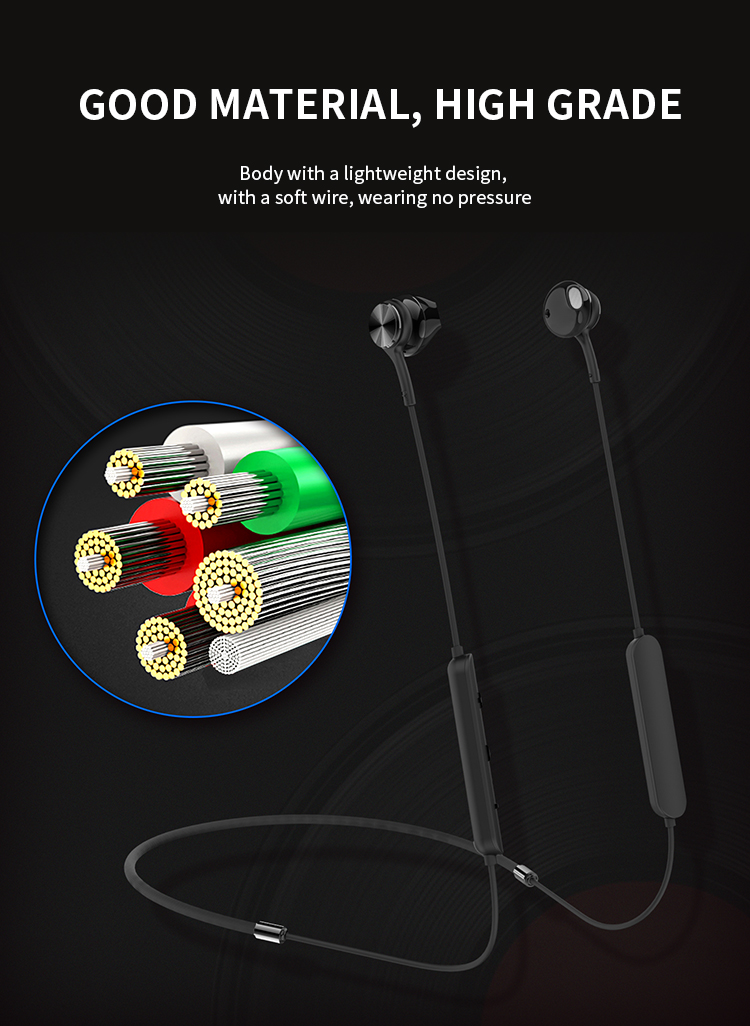 Noise cancelling headset in ear earbuds ear phone wireless headphones bluetooh earphone for apple iphone samsung