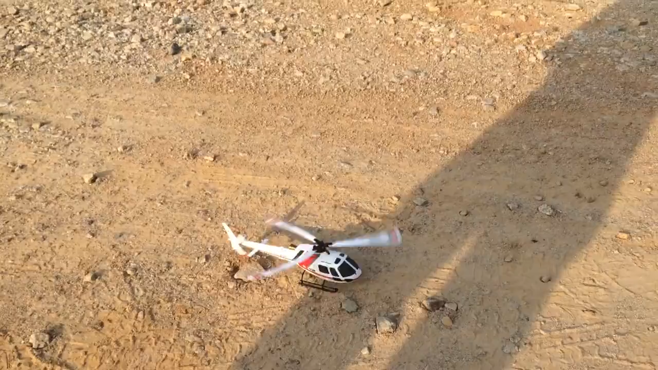 Hélicoptère télécommandé de bonne qualité 2.4G 6CH 3 rames hélicoptère télécommandé