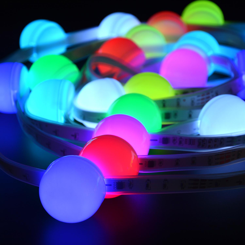 VIAIS LED Strip Lights, 16.4ft RGB LED Light Strip 5050 LED Tape Lights, Color Changing LED Strip Lights with Remote for Home Li