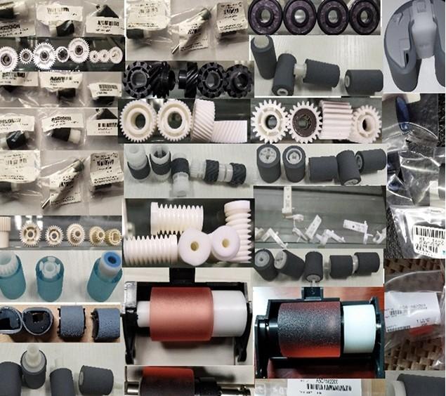 Weemay AF03-0090 kağıt alma rulo-pu kullanım için ricoh Aficio SPC811DN