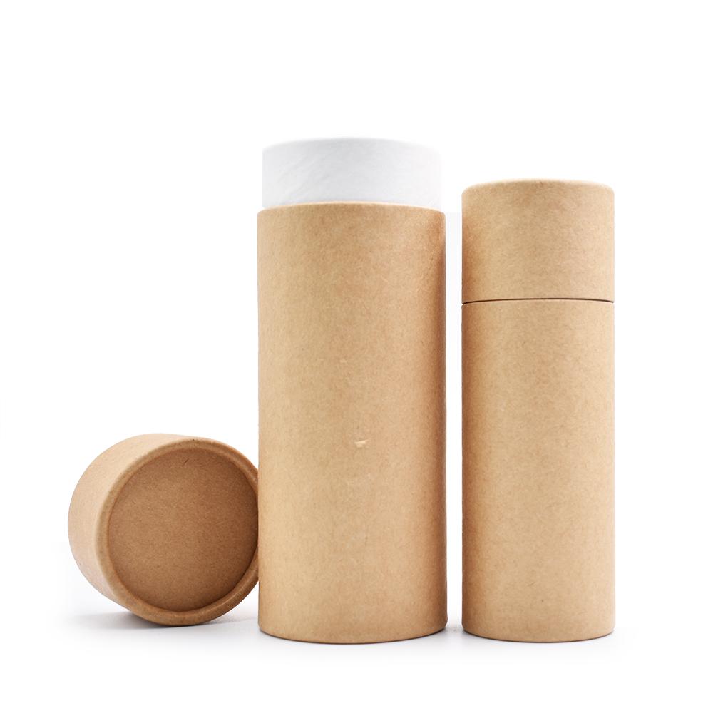 ชาบรรจุภัณฑ์หลอดกระดาษกระดาษแข็งกระบอกกล่องสำหรับบรรจุภัณฑ์