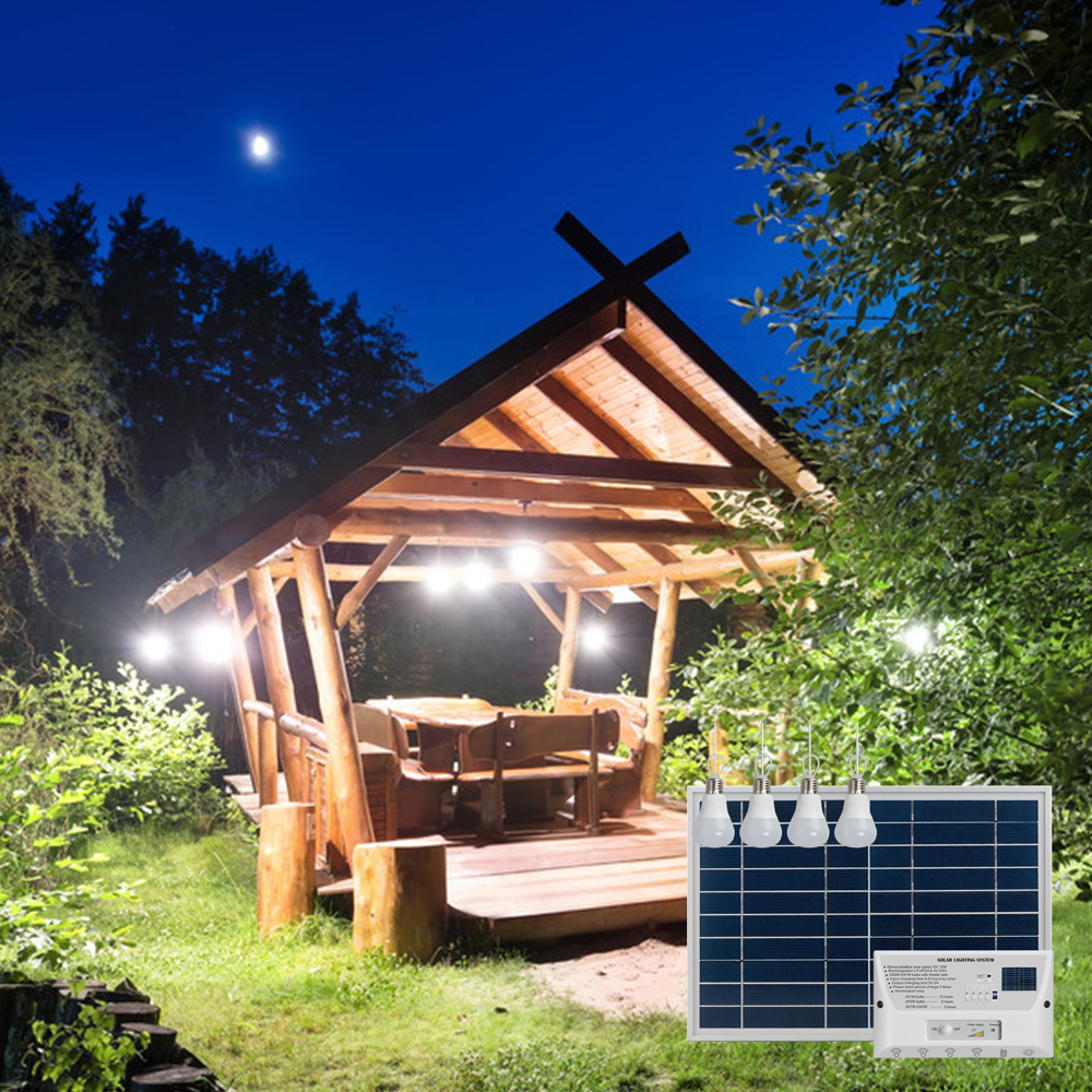 Portable Solar Energy home power solar system for home lighting and phone charging