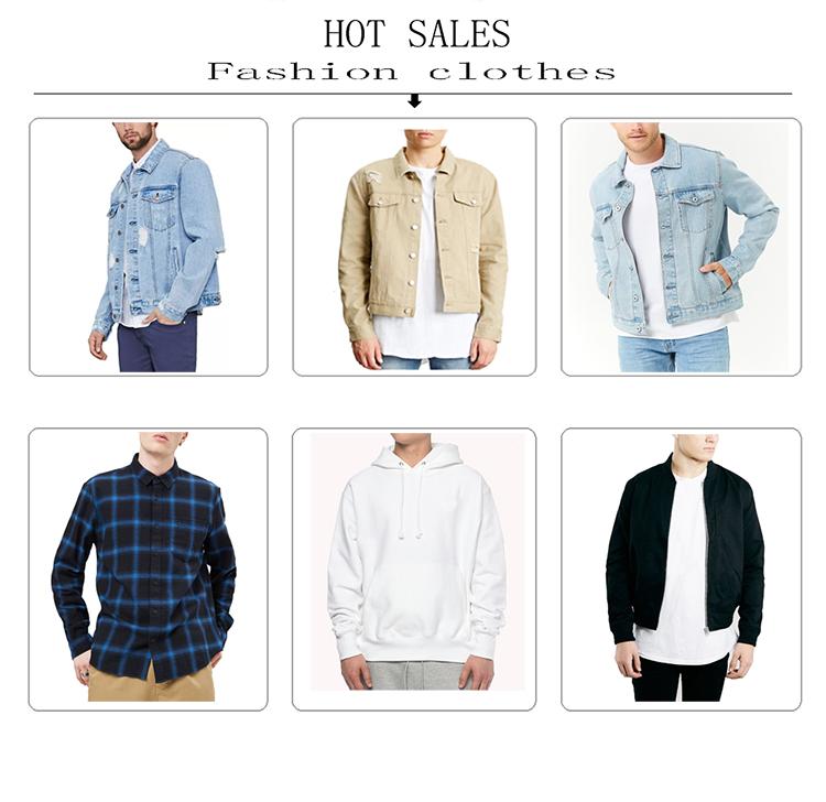 wholesale denim Men's cotton make old hole jeans jacket