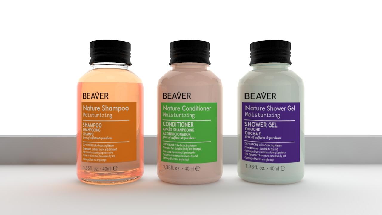 Hotel Supplies amenities set shampoo conditioner and shower gel