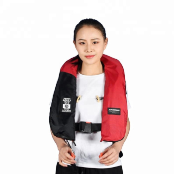 SOLAS Approved Cheap Price Neoprene Nylon 275N automatically operated gas inflation lifejacket life jacket vest