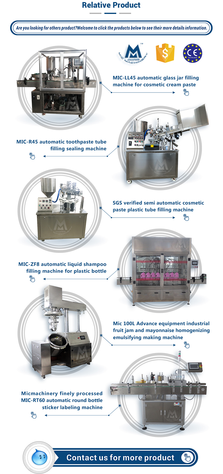 Export to France MIC-R60 auto cream filling machine for plastic and soft tube speed at 60 tpm