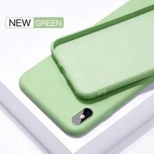 Мягкий жидкий силиконовый чехол Briame для iphone 7 8 6 6s Plus 5S 4 чехол для телефона для iphone X Xs 11 Pro Max XR(Китай)