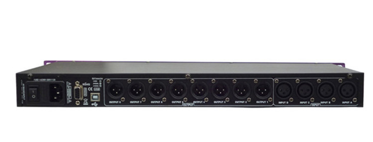 4 In 8 Out dsp digital audio DYNAMICS processor P-448