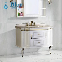 High Quality China Wholesale Wall Mounted Bathroom Vanity / Bathroom Cabinets Tall Bathroom Vanity