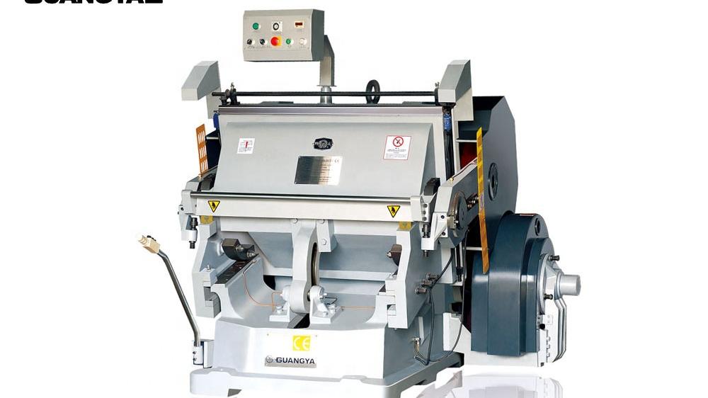 Rendimiento estable ML1200 morir de platina de prensa morir máquina de corte para máquina de cartón de papel