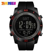 Мужские Цифровые часы эксклюзивный бренд SKMEI наручные часы калорий шагомер браслет для мужчин компас цифровые часы мужские s часы(Китай)