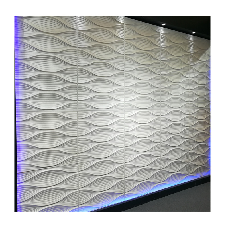 3d decorative soundproof <strong>panel</strong> polyester fiber acoustic <strong>panel</strong> for interior wall