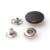 OEM accessories logo design custom metal snap buttons for clothes