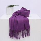 Latest Design Women Solid Color Warm Imitate Pashmina Cashmere Scarf Women Hijab Winter Scarf Cashmere Shawl Nepal