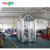 Silver cash money machine inflatable money grab booth