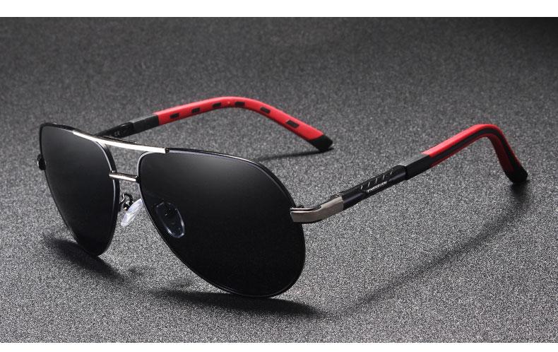 Mudando A Cor Dos Homens clássicos da Moda Óculos de Sol Óculos UV Proteger Óculos de Qualidade Óculos Polarizados Pesca Óculos de Sol