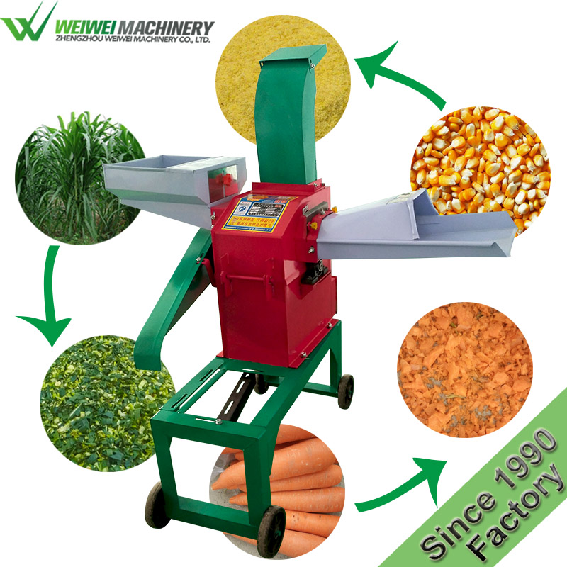 Weiwei grass cutter welcome wholesales animal cattle feed pellet machines
