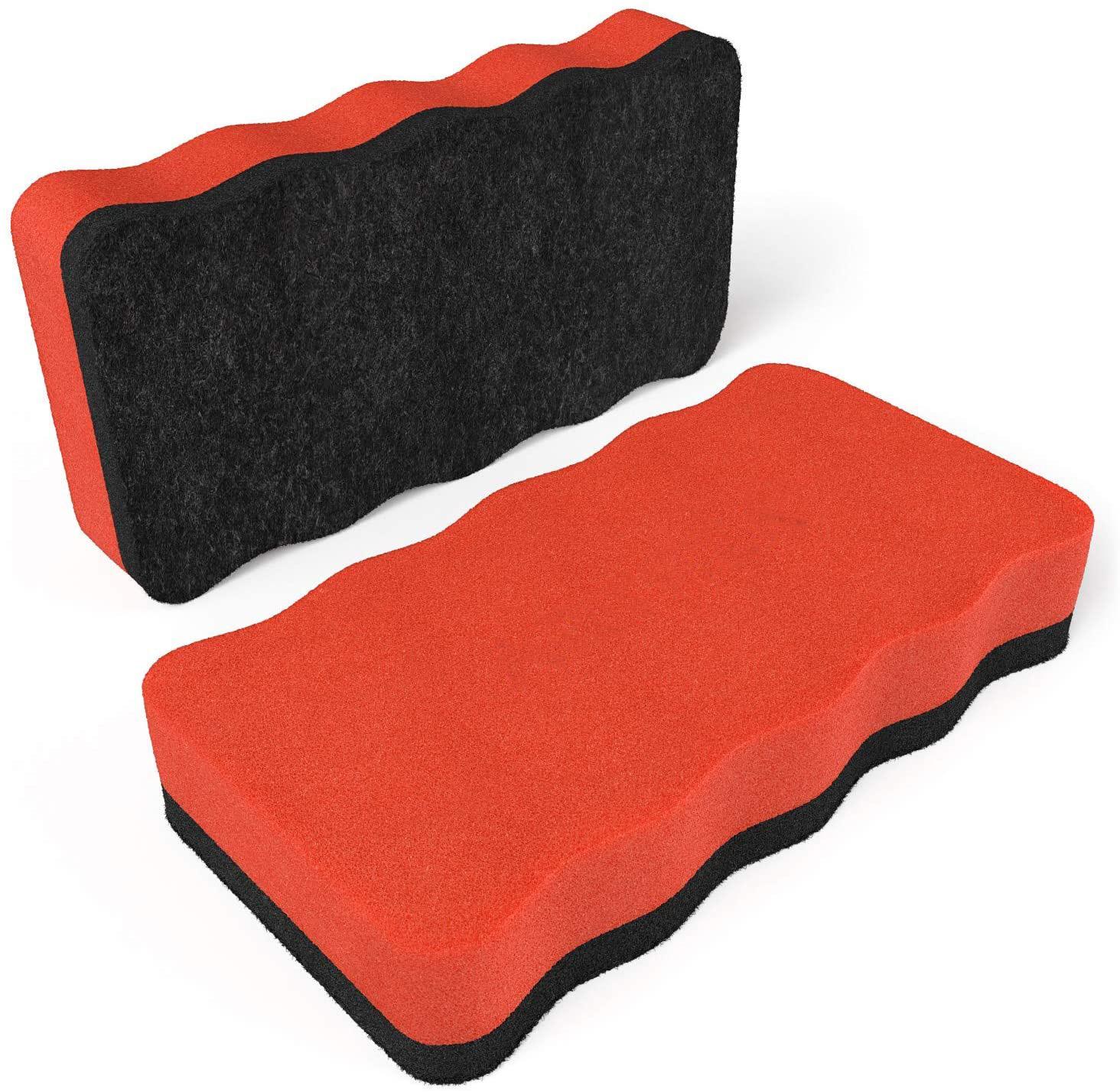 Magnetic Dry-Erase Board Foam Erasers, Set of 10 - Yola WhiteBoard | szyola.net