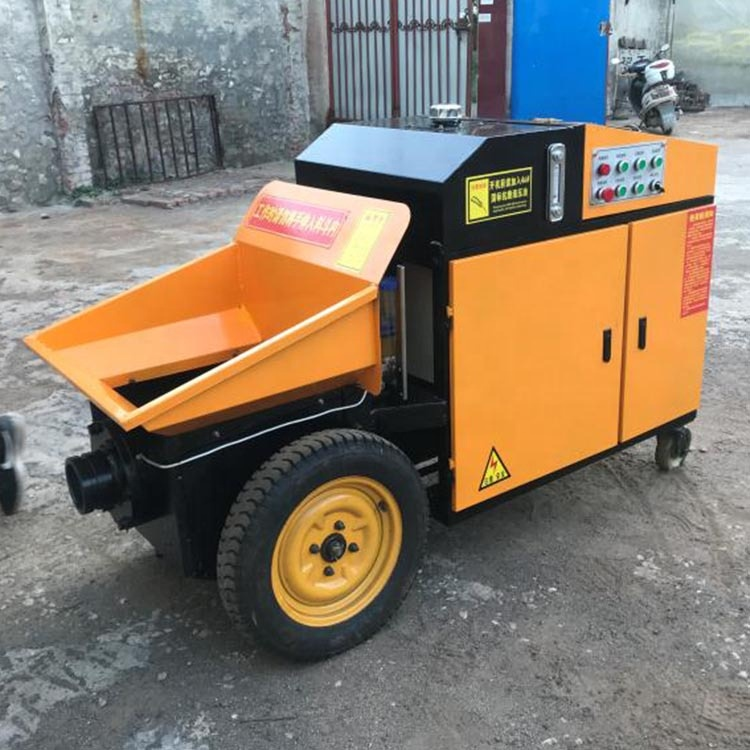 Hydraulic Power Type vertical concrete pumpconcrete transfer pump