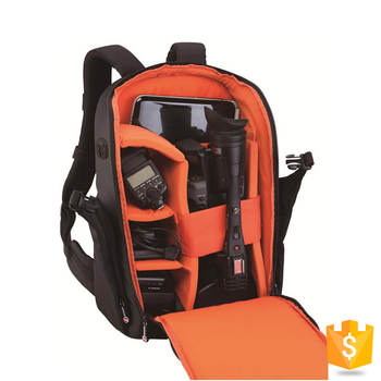 Sunrise Fashion Style Waterproof Out Door Video Backpack dslr Camera Bags