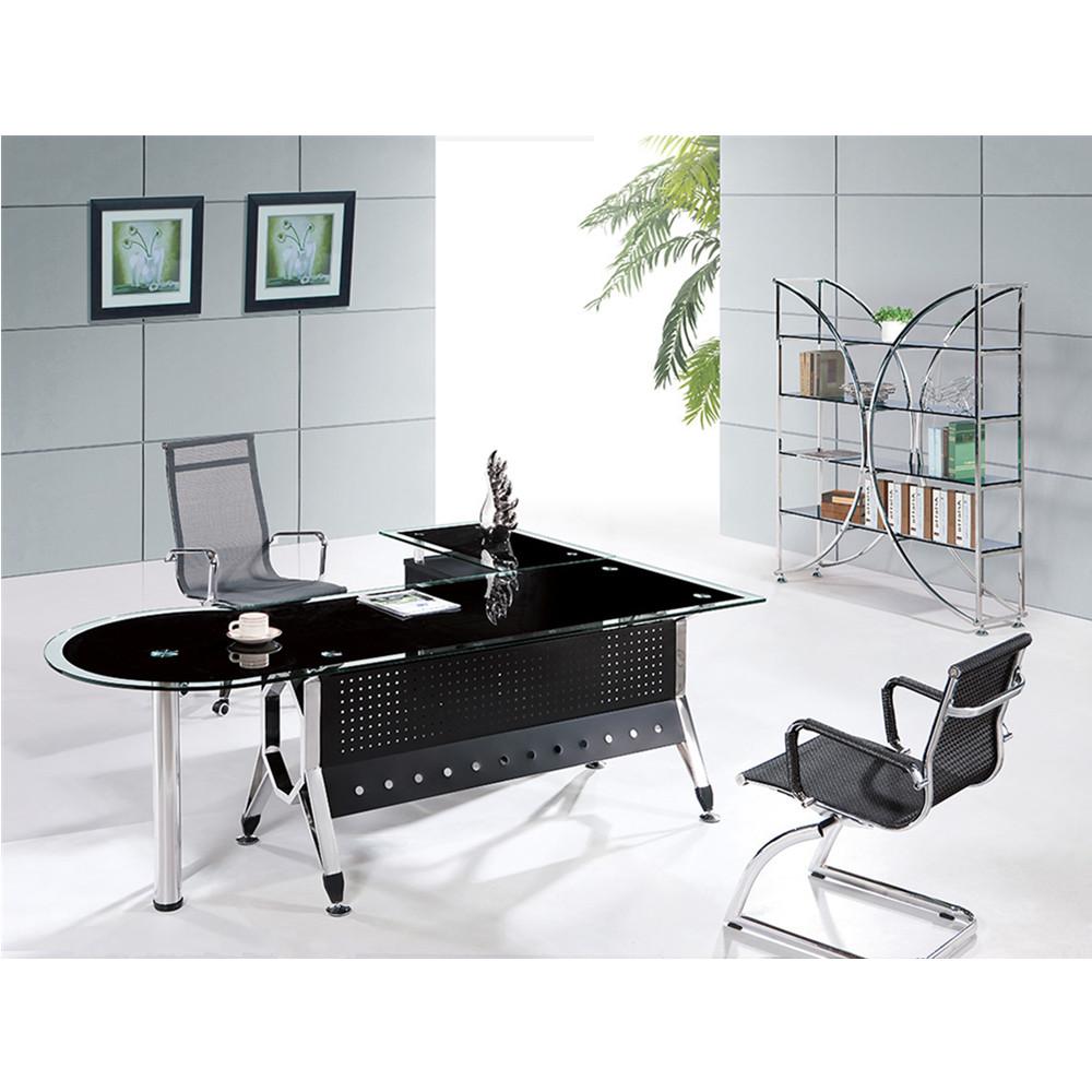 L Shaped Gl Executive Office Desk
