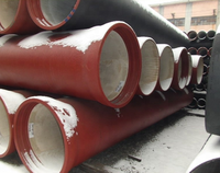 Ductile iron pipes EN598 di tyton pipe