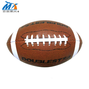 high quality American football official size and weight rugby ball pvc leather