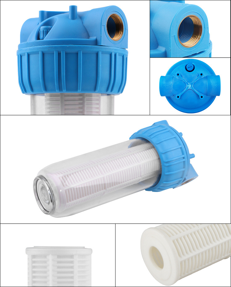 0.1 Micron Wall-Mounted ro membrane  Pre filter purifiers