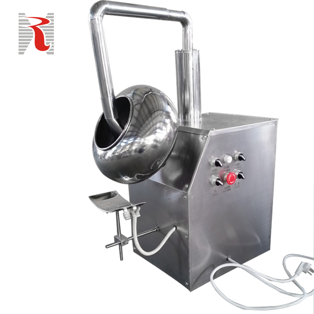 BYC-1000 automatic pharmaceutical tablet film sugar coating machine with GMP approved