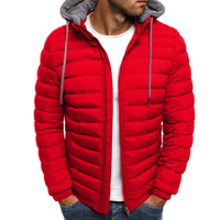 Cheap Fashion Padded Cotton Filling Windproof Casual Wear Jackets for Men 2019 Winter Jacket Winter Men