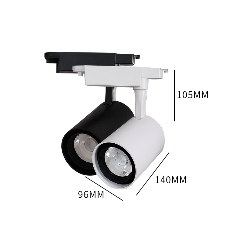 Wholesale adjustable 20w 50w zoom led linear magnetic track lights rail