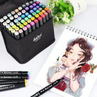 Cheap dual tips permanent marker pens art markers